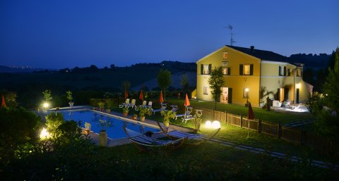 bed and breakfast immerso nella natura marchigiana